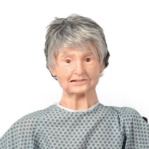TERi™ Geriatric Patient Skills Trainer - Androgynous trainer for physical skills practice simulation, light skin, 1022932, Geriatric Patient Care