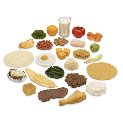Latin American Food Replica Package, 3009000, Nutrition Education