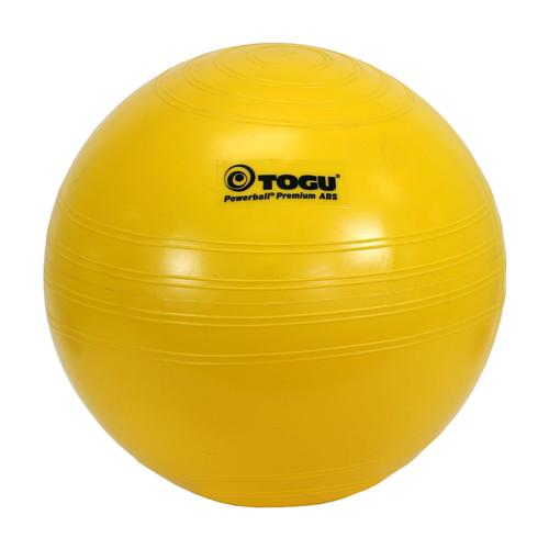 Togu Powerball Premium ABS, 45 cm (18 in), yellow, 3009903, Exercise Balls