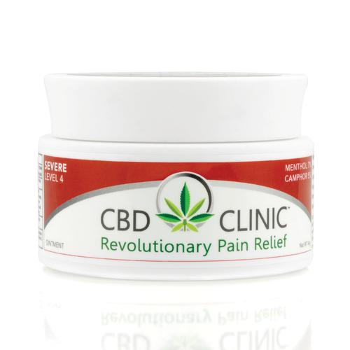 CBD CLINIC Level 4 – Deep Muscle and Joint Pain Relief, Topical