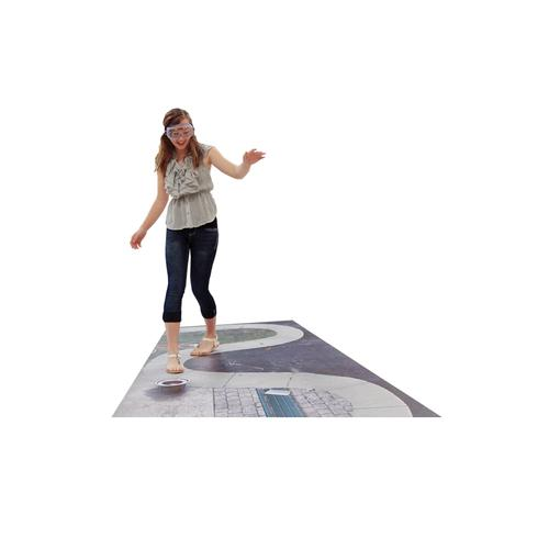 DIES Winding Sidewalk Mat, 3011771, Drug and Alcohol Education
