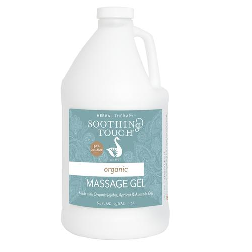 Unscented Massage Gel Organic 1/2 Gallon, 3011795, Massage Lotions