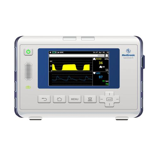 Medtronic Capnostream™ 35 Patient Monitor Screen Simulation for REALITi360, 8000973, Advanced Trauma Life Support (ATLS)