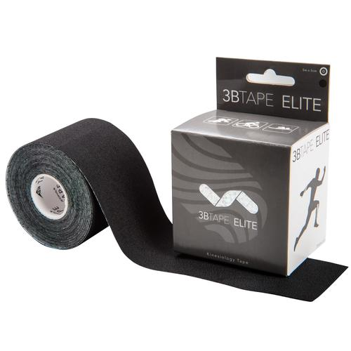 "3BTAPE ELITE – kinesiology tape – black, 16' x 2"" roll, 1018891 [S-3BTEBK], Kinesiology Taping"