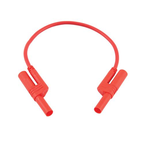U13701: Safety Patch Cord 2.5mm/25cm Red