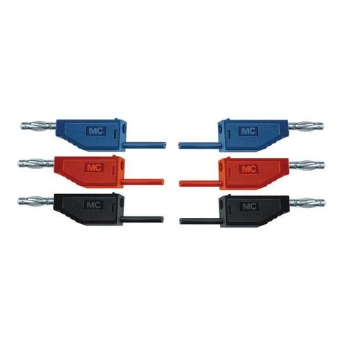 Set of 15 Experiment Leads, 75 cm 1 mm², 1002840 [U13800], Circuits