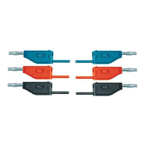 Set of 15 Experiment Leads, 75 cm 2.5 mm², 1002841 [U13801], Circuits