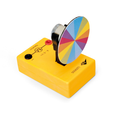 Newton's Colour Disc, with DC Motor, 1010175 [U29555], Color