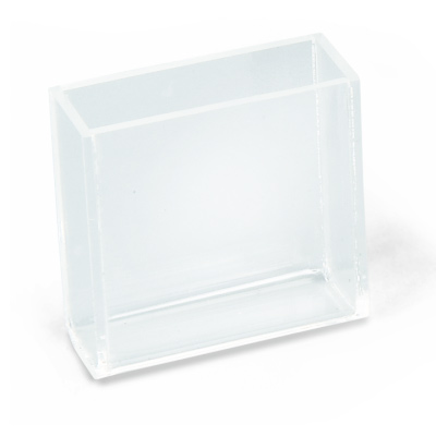 Cuvette, Rectangular, 80x30x80 mm³, 1003534 [U8475830], Glass