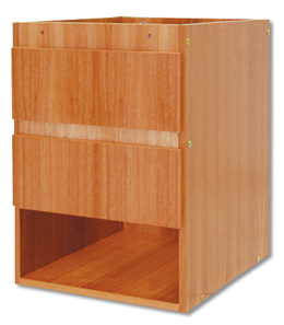W15175: Storage Cabinet with Two Drawers