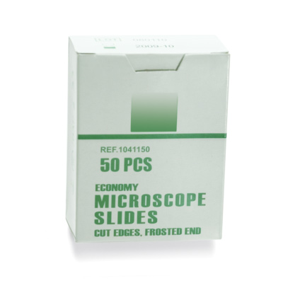 Microscopic Slides, Cut Edges, 1005082 [W16158], Microscope Slide Boxes