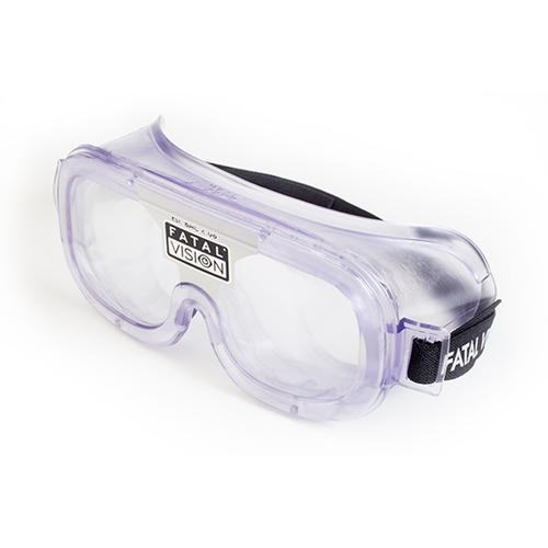 Fatal Vision® Alcohol Impairment Simulation Goggle - White Label Clear, W33203-1, Drug and Alcohol Education