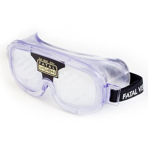 Fatal Vision® Alcohol Impairment Simulation Goggle - Black Label Clear, W33209-1, Drug and Alcohol Education