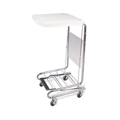 Hausmann 2189 mobile hamper stand rolling carts for Hausmann mobel
