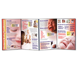 Shaken Baby Syndrome Folding Display, 3004686 [W43140], Parenting Education