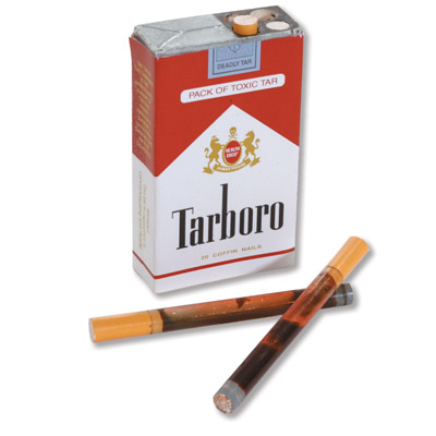 A Pack of Toxic Tar Display, 3004760 [W43237], Tobacco Education
