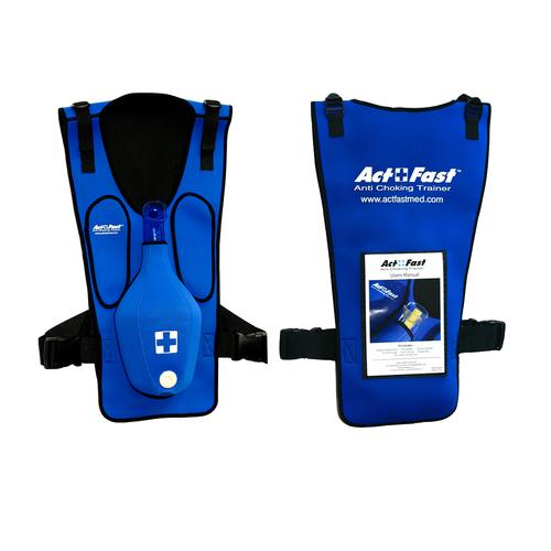 Act+Fast Rescue Choking Vest - Blue, 1017938 [W43300B], BLS Adult