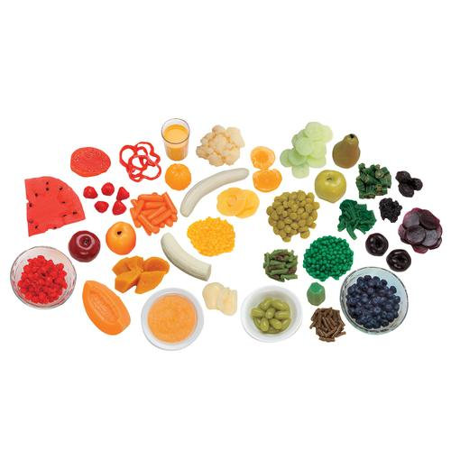 W44691: Fruit & Vegetable Rainbow Foods Kit