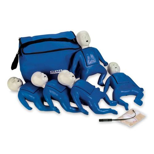 CPR Prompt® Training and Practice Manikin ( Infant) 5 Pack, 1017942 [W44711], BLS Newborn