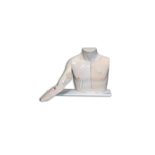 Chester Chest™ with Advanced Arm, Light Skin, 1009801 [W46507/1], Advanced Trauma Life Support (ATLS)