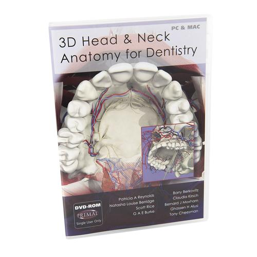3D Head & Neck Anatomy for Dentistry DVD-ROM, for students - 1010476 ...