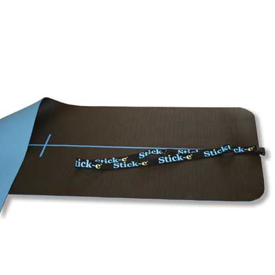 W47150M: Stick-E Yoga Mat with Lasso Strap