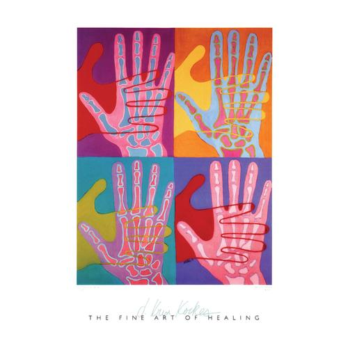 medART High Five Art Poster, 1005874 [W47718], Skeletal System