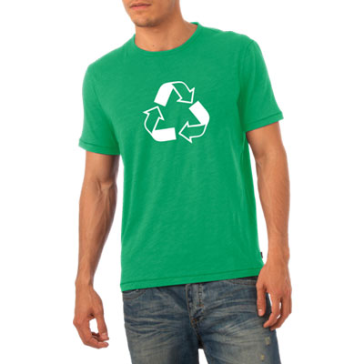 W49465R-M: Recycling Tee Shirt - Men's Fitted Tee 1