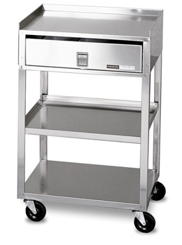 Superbe MB TD Stainless Steel Cart With Drawer