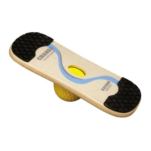 Balance Board Exercises Beginners: Combo Rocker & Wobble Board (Beginner/Advanced)
