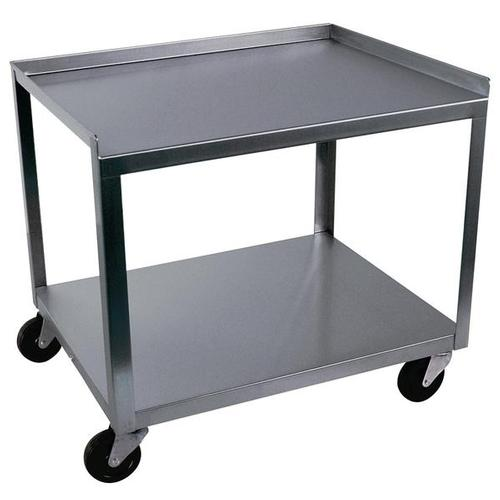 2 Shelf Stainless Steel Cart W56107 Ideal Mc221