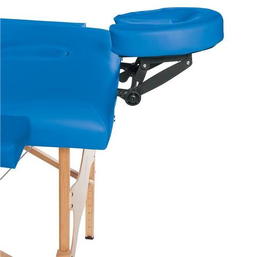 3B Basic Portable Massage Table Blue, 1013724 [W60601B], Acupuncture Furniture
