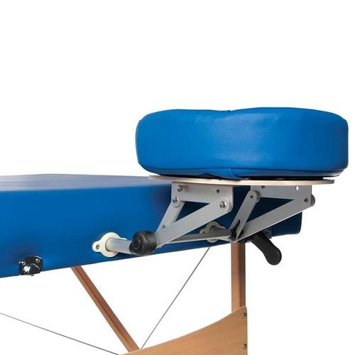 3B Deluxe Portable Massage Table - Blue, 1013727 [W60602B], Acupuncture Furniture
