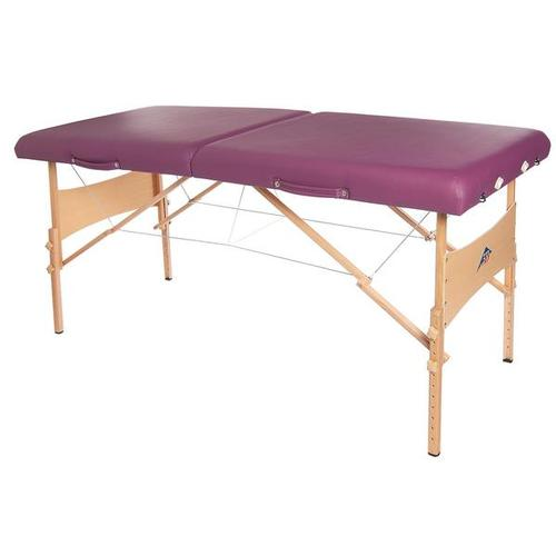 3B Deluxe Portable Massage Table - Burgundy, W60602BG, Portable Massage Tables