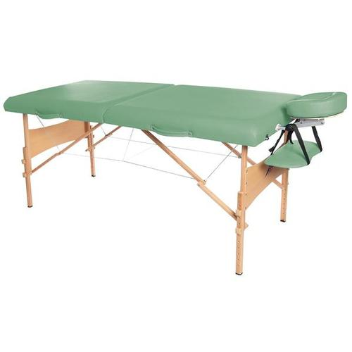 3B Deluxe Portable Massage Table - Green, W60602G, Portable Massage Tables