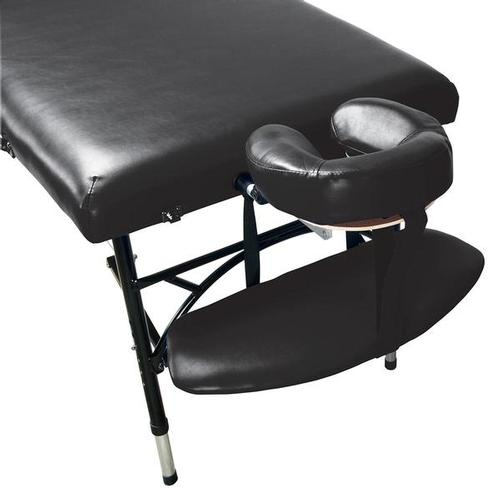 3B Aluminum Portable Massage Table, Black, 1018653 [W60610MBK], Acupuncture Furniture