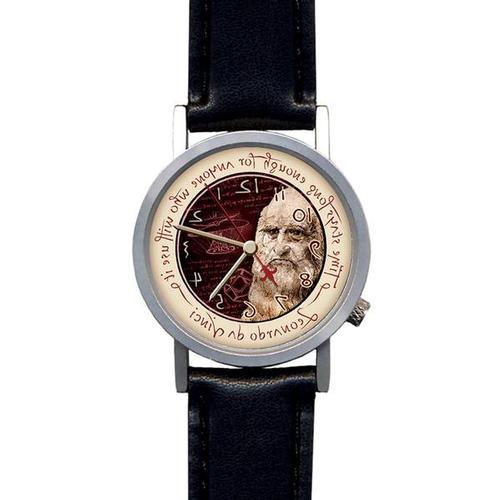 W64001L: Leonardo Da Vinci Reverse Motion Watch