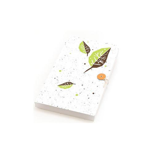 Think, Write & Grow Journals Green Leaf, W64150GL, Books, Cards and Stationery