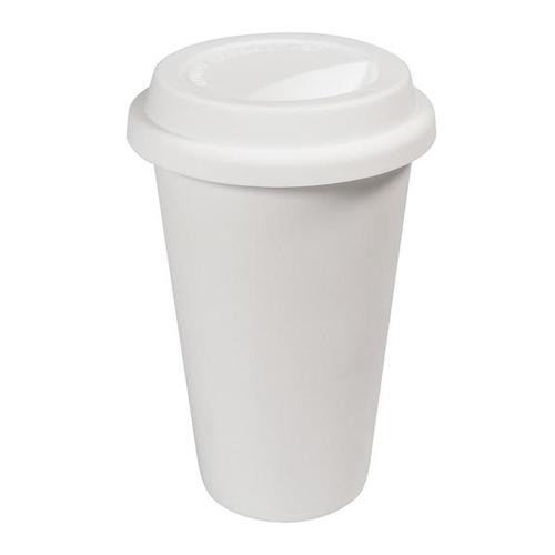 "W64507: Ceramic ""Paper"" Coffee Cup 2"
