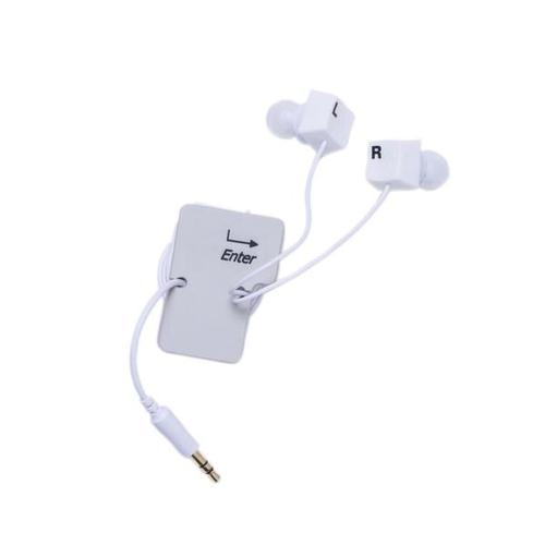Keyboard Keys Earbud Set, W64704, Stocking Stuffers