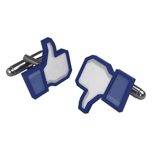 W64793: Thumbs Up - Likeable Cufflinks 1