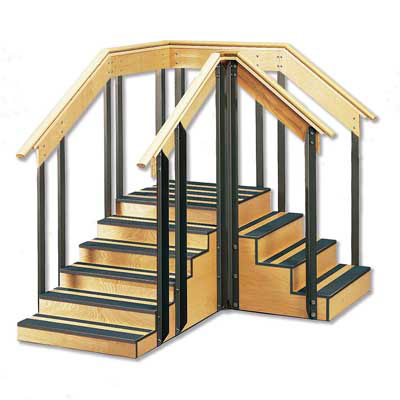 "Convertible Staircase 30"", W65040, Training Stairs"