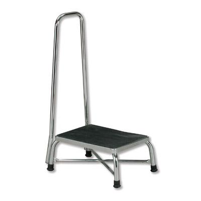 Phenomenal Large Top Chrome Bariatric Step Stool W Handrail Camellatalisay Diy Chair Ideas Camellatalisaycom