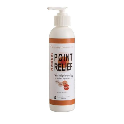 Point Relief HotSpot Gel, 8 oz. Bottle, 1014038 [W67016], Point Relief