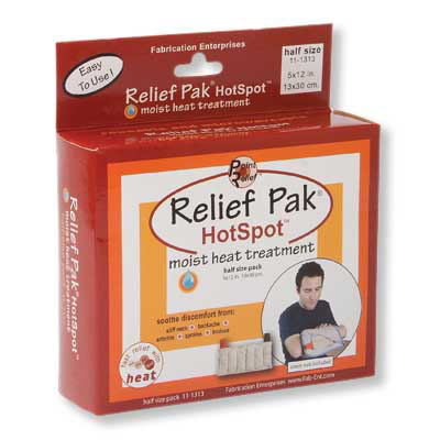 Relief Pak Hot Pack, Half Size, 1014010 [W67108], Hot Packs