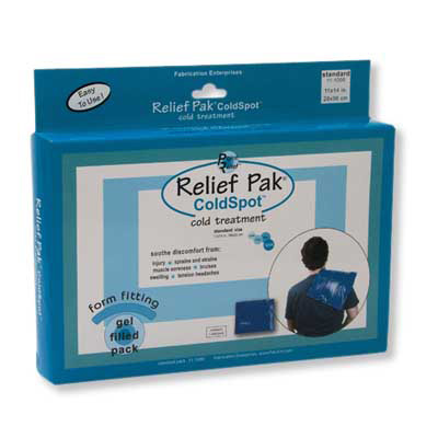 Relief Pak Cold Pack, Standard, 1014021 [W67125], Cold Packs and Wraps
