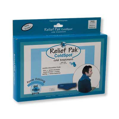 Relief Pak Cold Pack, Neck, 1014022 [W67126], Cold Packs and Wraps