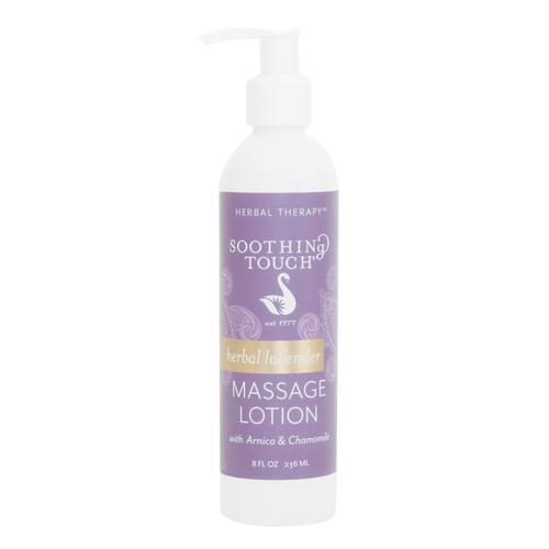 Soothing Touch Herbal Lavender Lotion, 8oz, W67341S, Massage Lotions