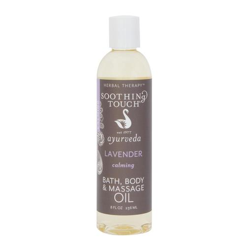 Soothing Touch Bath & Body Massage Oil, Lavender, 8oz, W67366L, Aromatherapy