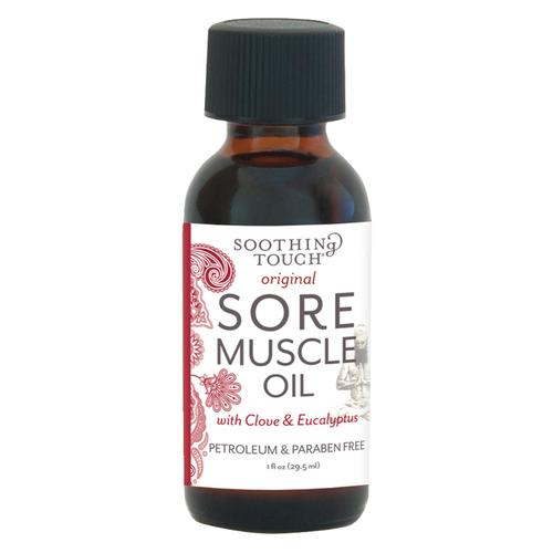 Soothing Sore Muscle Oil, 1oz, W67367N1, Acupuncture accessories